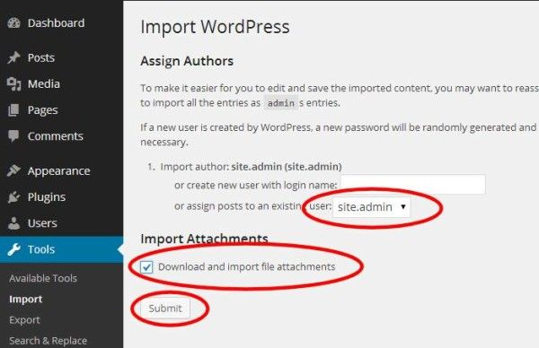 9 Upgrading WordPress - Importing Final Content