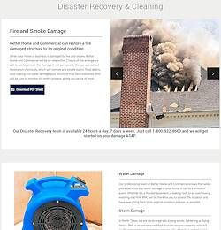 Web Design Allen, Tx - Construction Firm Disaster Recovery
