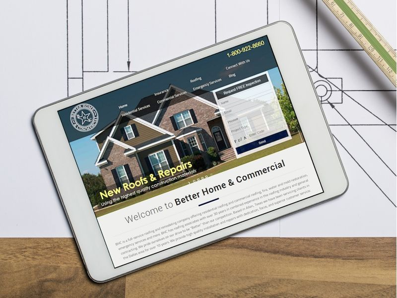 Website Design Allen Tx - Construction Firm